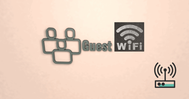 setting up guest wifi